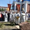 Управляющий епархией совершил освящение закладного камня в основание памятника в честь священномученика Мефодия, епископа Петропавловского