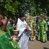 В день Святой Троицы Управляющий епархии совершил Божественную литургию и священническую хиротонию в Троицком храме села Железинка