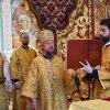 Служение викария Астанайской епархии в неделю Всех Святых