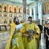 Литургия в честь славных и всехвальных апостолов Петра и Павла в главном храме Епархии