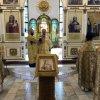 Литургию и молебен в день памяти равноапостольного князя Владимира Управляющий епархии совершил в Благовещенском кафедральном соборе