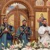 Празднование Успения Пресвятой Богородицы в главном храме Рудного Алтая