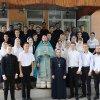 Учащиеся Алматинской духовной семинарии начали учебный год с общей молитвы