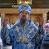 В праздник Рождества Божией Матери епископ Каскеленский Геннадий возглавил престольные торжества в Богородице-Рождественском храме поселка Акжар