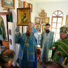 Служение епископа Каскеленского Геннадия в день престольного праздника Спасо-Силуановой мужской пустыни