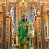 Епископ Каскеленский Геннадий совершил Божественную Литургию в день памяти преподобного Сергия Радонежского